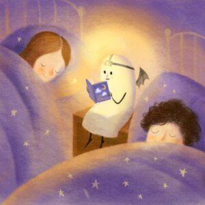 Lahkonočnica za branje pred spanjem